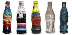 Aboriginal Coke Bottle Art at Vancouver 2010
