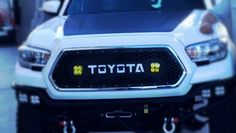 **NEW** 2016 Tacoma Grille Insert with 3X3 Led Cube Cutouts