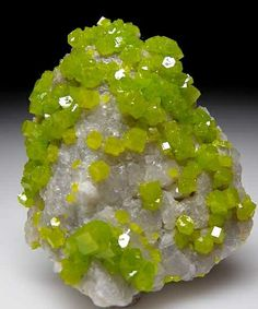 Pyromorphite Daoping Mine, Guangxi Prov., China small cabinet - 5.2 x 4.5 x 2.5 cm