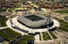 Juventus Stadium, Torino, Italia.