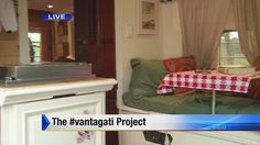 TV personality and New York Times bestselling author Steve Santagati explains the #vantagati project and tiny house movement.