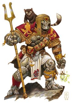 Book, the Warforged Sorcerer. Little bugger shows up all over the Eberron supplements. He's adorable.