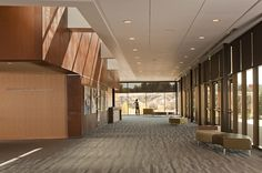 Parker Arts & Cultural Events {PACE} Center Main Lobby