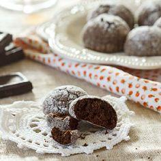 Chocolate Rum Cookies