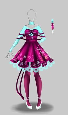 Outfit design - 159 - closed by LotusLumino on DeviantArt