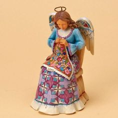 Jim Shore Sewing Angel