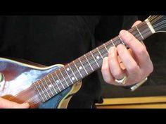 Got to play any key on the mandolin