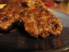 Turkey (or Chicken) Apple Sausage... using dried apples