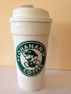Mario starbucks cup
