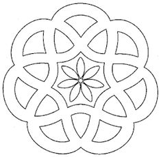 Designs to print simple mandalas simple mandala coloring pages pour Mandala Design, Mandala Pattern, Mandala Art, Mandala Drawing, Flower Mandala, Stained Glass Patterns, Mosaic Patterns, Embroidery Patterns, Mandala Coloring Pages