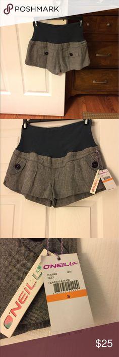 Gray shorts Gray shorts -NWT.  Great style. O'Neill Shorts