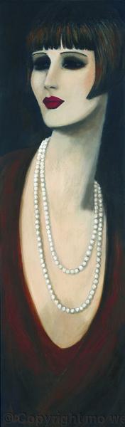 Mode art déco, peintures 1920, peintures art déco des années 1920