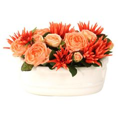 I pinned this Silk Dahlia & Rose Arrangement from the Design Icon: Renoir event at Joss and Main!