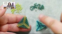 BeadsFriends: Basic Peyote Tutorial - How to make a triangle using Peyote Stitch Peyote Stitch Patterns, Seed Bead Patterns, Loom Patterns, Beading Patterns, Bracelet Patterns, Seed Bead Tutorials, Beading Tutorials, Loom Bands, Bead Earrings