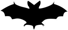 Today's image is a wonderful silhouette of a bat! This one is not from my collection, but it is in the public domain and I think it's such a useful image for those Halloween craft projects. Retro Halloween, Image Halloween, Halloween Bats, Halloween Projects, Holidays Halloween, Halloween Ideas, Happy Halloween, Halloween Decorations, Craft Projects