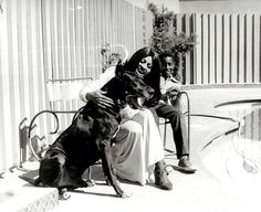 Tina Turner with her son Ronnie Turner.