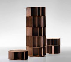 Michele De Lucchi's feeling for design: Existence bookcase, De Castelli, 2010 @micheledelucchi #designbest