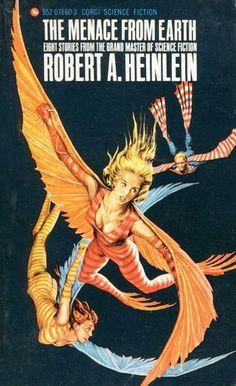 The Menace from Earth, Robert Heinlein. Image © Josh Kirby Estate.