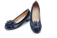 HISPANITAS HV37589 #shoes #moda #zapatos #hispanitas #fashion #blue #jeans #patent