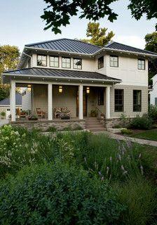 Front Yard Raingarden - transitional - exterior - minneapolis - by Southview Design