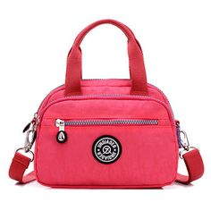 Women Nylon Crossbody Bag Shoulder Bag Casual Outdoor Picnic Bag