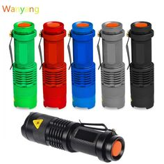 SANYI 2000 Lumens Flashlight Torch Q5 LED Zoomable 3 Modes Mini Camping Hunting Flash Light Lantern 14500 AA Lamp Hot Sale //Price: $2.78//     #onlineshop
