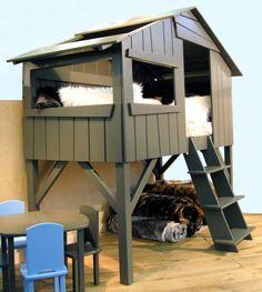 Lit cabane Woody Wood d\'Alinéa | Chambre enfant / bébé | Pinterest ...