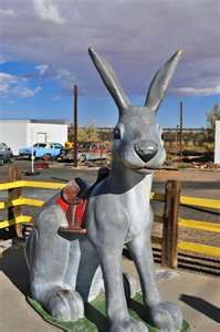 Get Your Kicks on Route 66 Jack Rabbit Trading Post, AZ