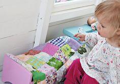 nukensänky ja tilkkupeitto