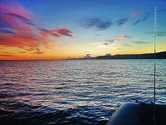 Il tramonto in mare.... non ha prezzo.... #stefanoadami #tramonto #fishing #sunset #calamari #squidfishing #squid