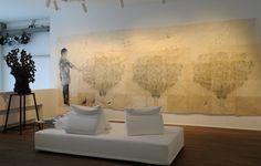 Johan Creten - La Brésilienne - 2012; Kiki Slith - Large Birds - 2007
