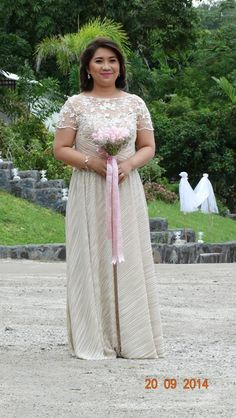not your ordinary wedding dress