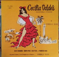 Cecilia Valdes, Zarzuela, Gonzalo Roig, Vintage Record Album, Vinyl LP, Classic Latin Novel set to Music, Latino Musical, Rare Obscure by VintageCoolRecords on Etsy