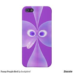 Shop Funny Purple Bird iPhone Case created by boobybird. Iphone Cases Cute, 5s Cases, Iphone Case Covers, Purple Bird, Fractal Design, Activity Games, Dog Bowtie, Iphone Se, Create Your Own