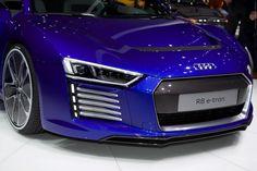 2015 Audi R8 e-tron (Geneva International Motor Show 2015) #Geneva_2015 #Audi #Audi_R8 #e-tron