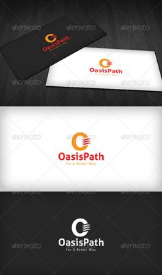 Oasis Path Logo  #GraphicRiver         Oasis Path Logo is a designed for Any types of companies. It is made by simple shapes Although looks very professional. The final file includes 3 variations of the Logo.  Featured:   Unique Slogan  AI CS3 Document  EPS CS Document  CMYK – 100 % Vector (Re-sizable)  3 Variations (Color, B/W & Inverts)    The free fonts used in the design are: Aller  Which can be downloaded here -  .fontsquirrel /fonts/Aller     Created: 15August12…