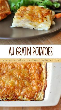 This recipe takes all the delectable requirements of an au gratin potato dish and streamlines it into an easy, no-fuss process.