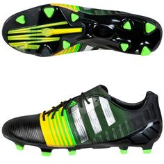 c935f178d8a0e adidas Nitrocharge 1.0 Green   Yellow football boots. Available from  kitbag.com. Uk