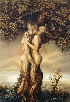 lustful embrace
