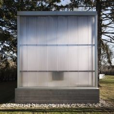 Polycarbonate Panels - His/Hers Studio by TBD Architecture Facade Architecture, Residential Architecture, Contemporary Architecture, Commercial Architecture, Amazing Architecture, Design Studio, House Design, Small Buildings, Garden Buildings