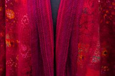 nuno felted cape with hand woven detail Nuno Felting, Cape, Hand Weaving, Detail, Home Decor, Mantle, Cabo, Hand Knitting, Decoration Home