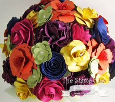 Stampin' Up!  by Melissa Stout: Paper Flower Punch Art