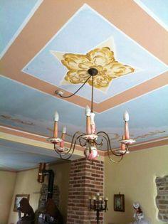 Soffitto Casa colonica dipinto da Letizia Bellomi 33896O6O56