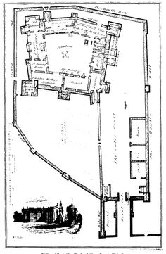 Belvoir Castle Ground Plan. A ground plan dating from the
