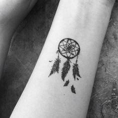 dream catcher tattoo small - Google Search