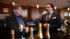 """Hamilton Golf and Country Club sommelier José Luis Fernández recently won the title of """"Best Sommelier in Ontario""""."""