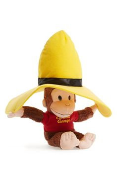 Love Curios George in a Yellow Hat! http://rstyle.me/n/igp36nyg6
