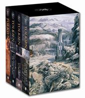 """5 Stars.  Fantasy/Adventure. Lord of the Rings Trilogy + The Hobbit. My favorite series ever. I took a fantasy literature class in high school and """"The Hobbit"""" was one of our required books to read.  I won't say much more about this since it has been so highly publicized since the movie, but I love these! Not really a book for children."""