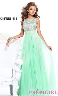 Long Prom Dress Style: SH-11022 Front Image