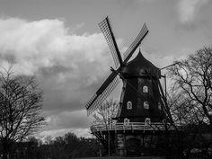 Windmill at Sunset - Malmo, Sweden by virtualwayfarer, via Flickr